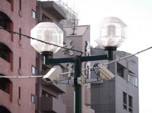 防犯カメラ工事 No.3 都内街頭カメラ
